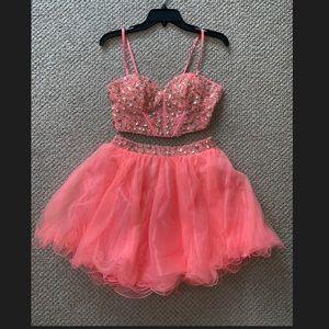 Formal 2 piece short dress